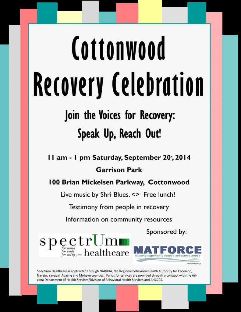 Cottonwood Recovery Celebration 2014-2
