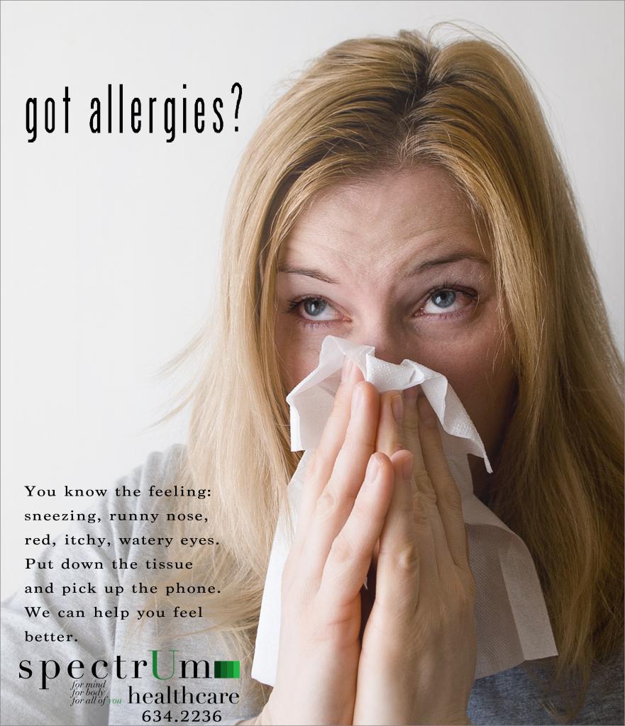 spectrum allergy ad